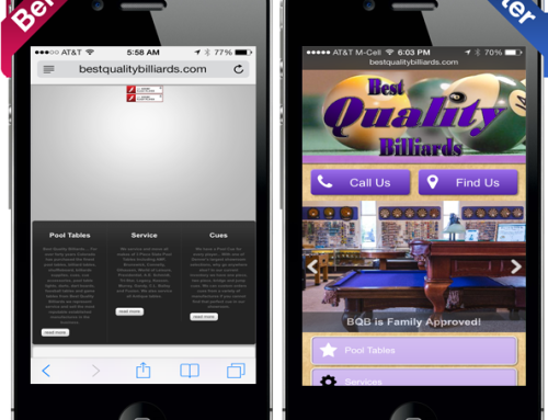 Best Quality Billiards Web Design Reference