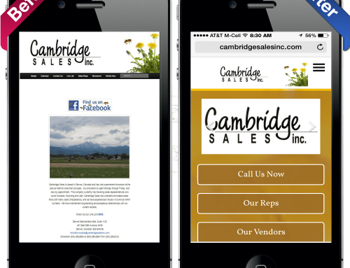 Cambridge Sales Website Makeover