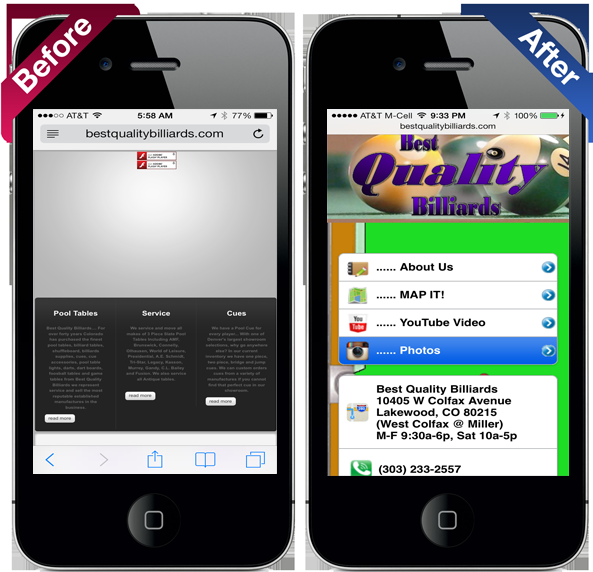 What is a true mobile website rexp digital marketing for Teure mobel
